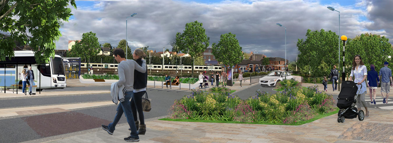 We have secured Flitwick funding for the town centre and station facilities