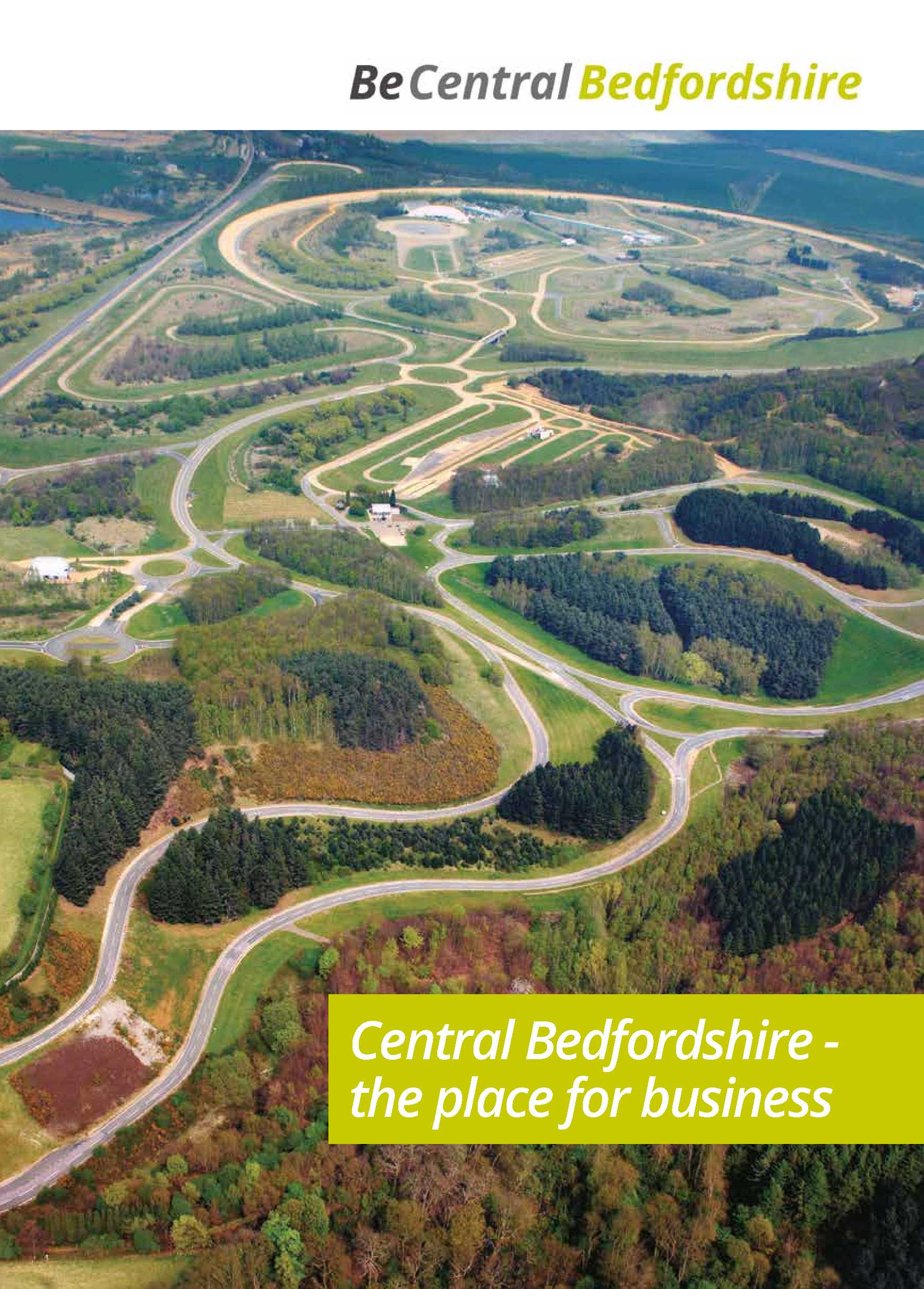 Central Bedfordshire - the place for business