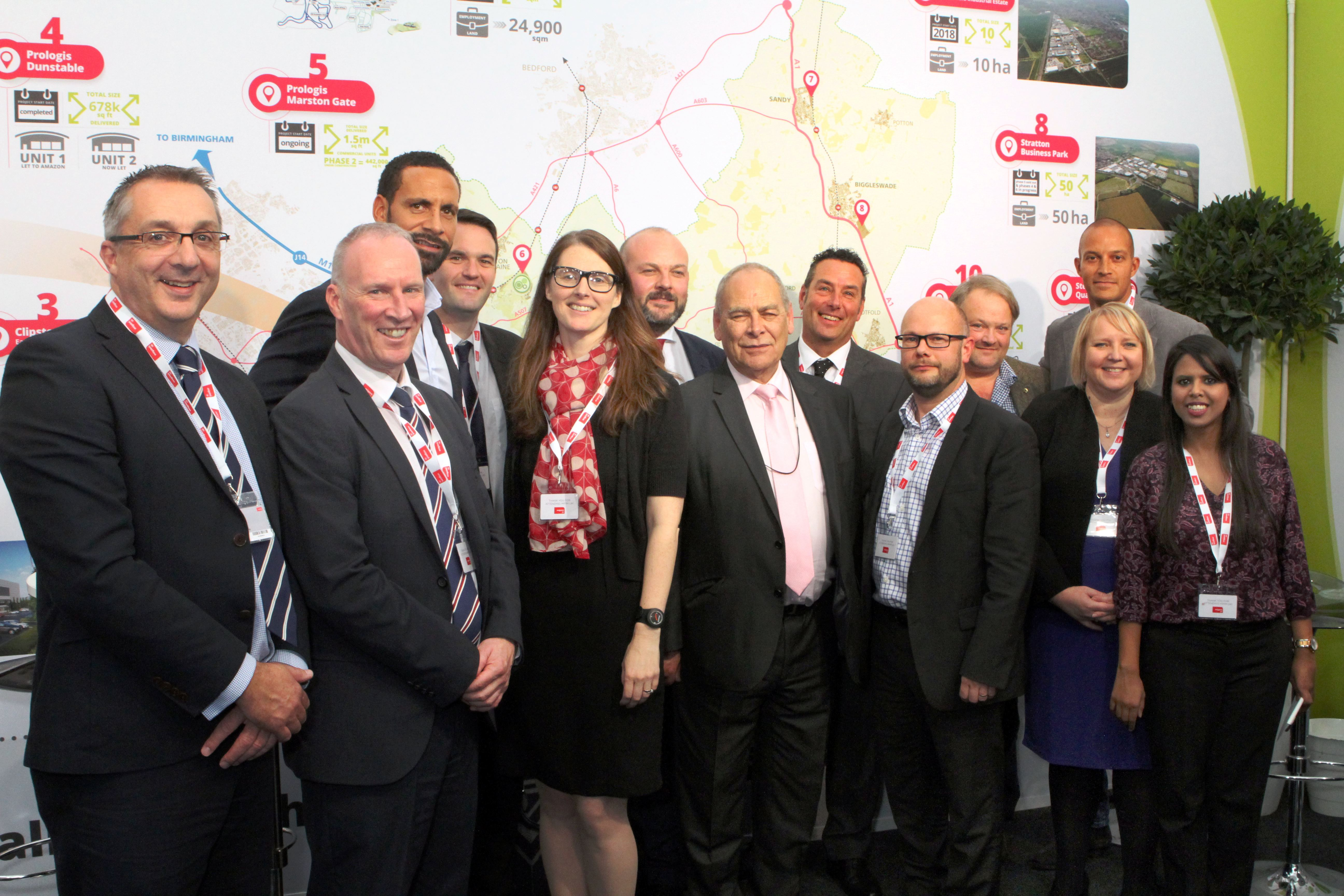 Be Central Bedfordshire makes its mark yet again at MIPIM this year!
