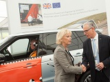 Smashing success for Millbrook at low carbon vehicle event