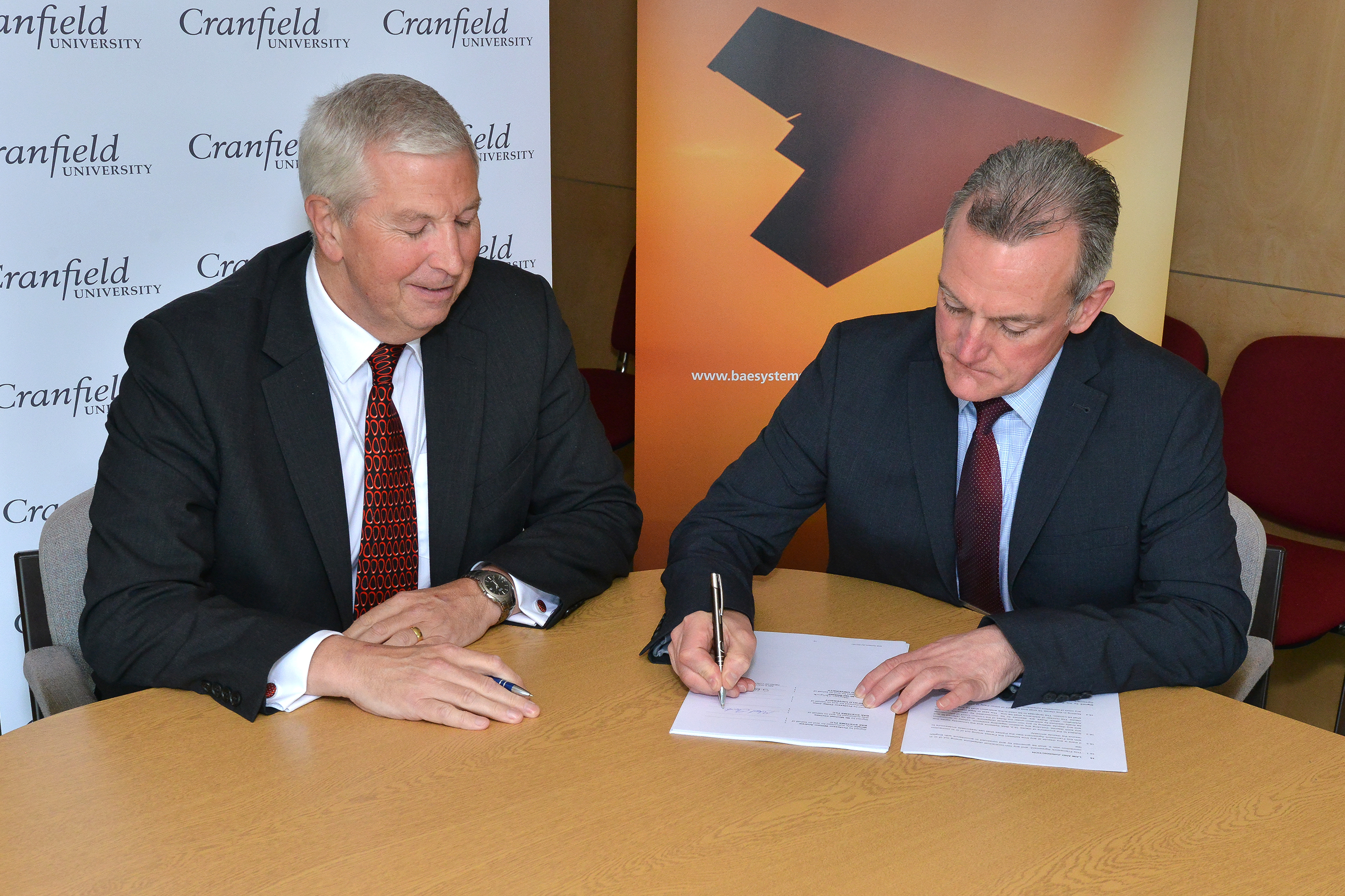 Cranfield University the first to sign strategic framework agreement with BAE Systems